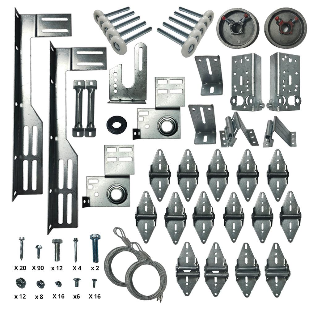 Dura Lift Garage Door Hardware Installation Kit For 16 Ft