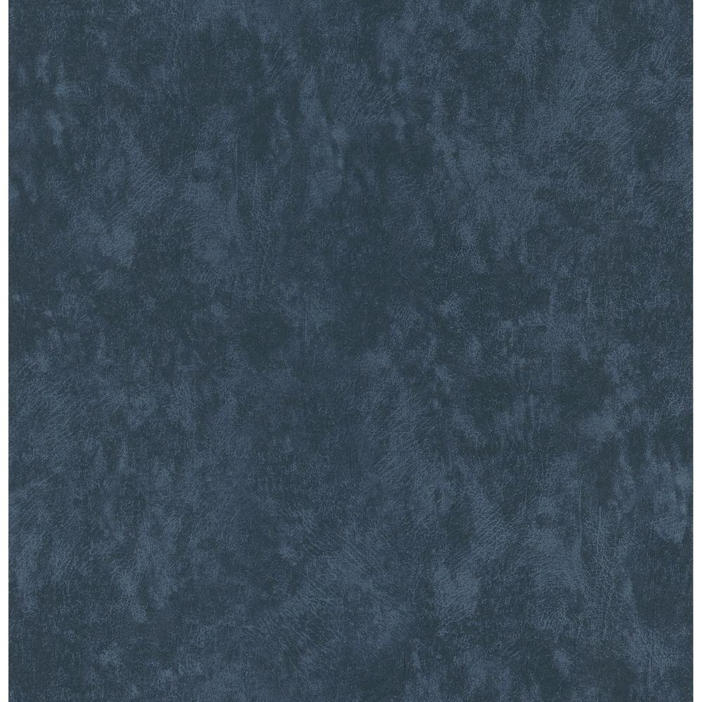 Brewster 56 sq. ft. Leather Textured Wallpaper