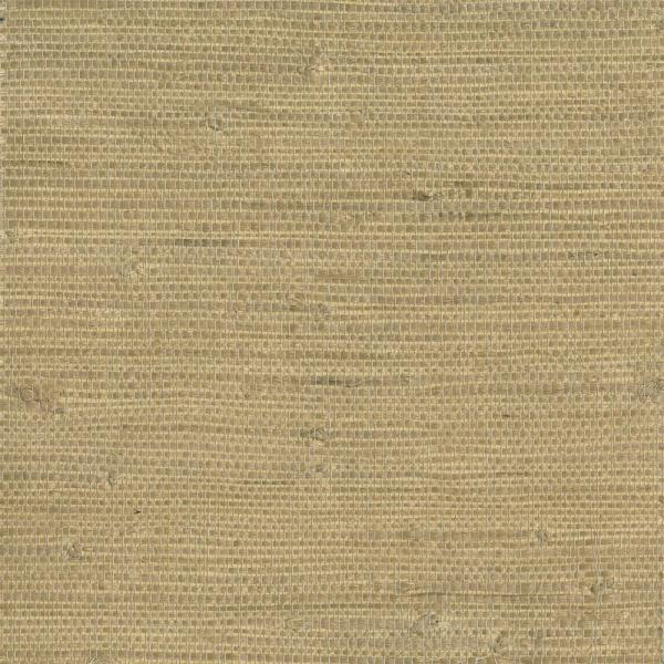 Kenneth James Chuso Wheat Grasscloth Wallpaper 2693-65429