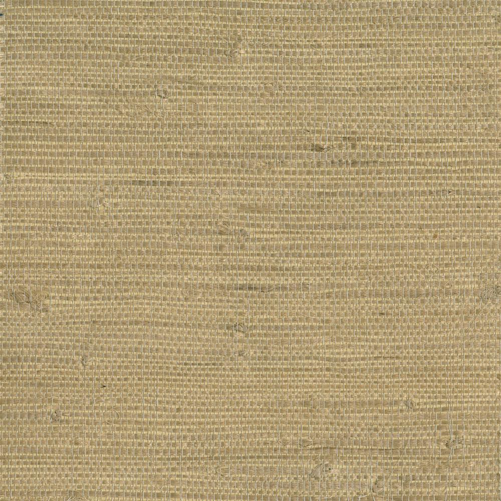 Chuso Wheat Grasscloth Wallpaper Sample