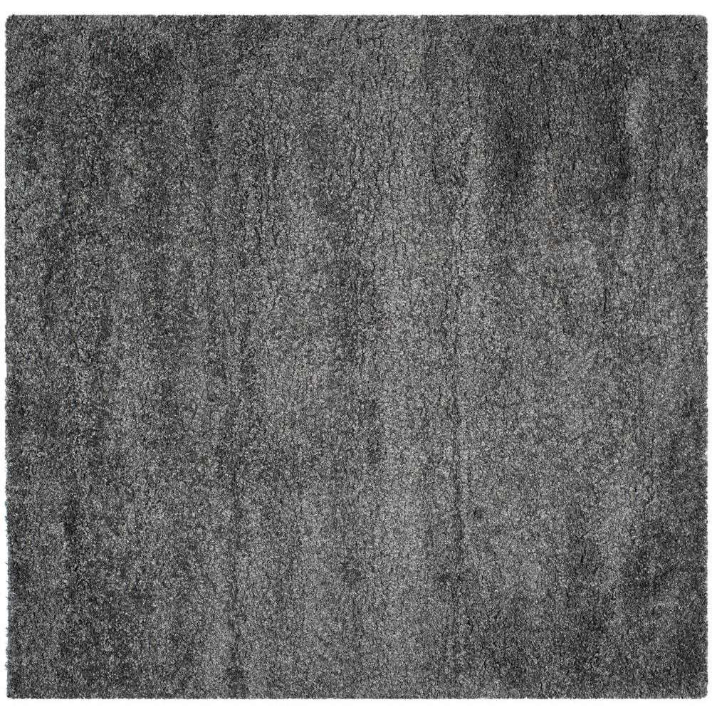 Safavieh California Shag Dark Gray 7 Ft X 7 Ft Square