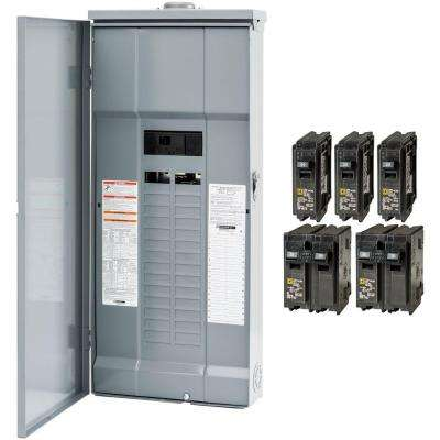 square d main breaker box kits hom3060m200prbvp 64_400_compressed main breaker load centers breaker boxes the home depot fuse box home depot at gsmportal.co