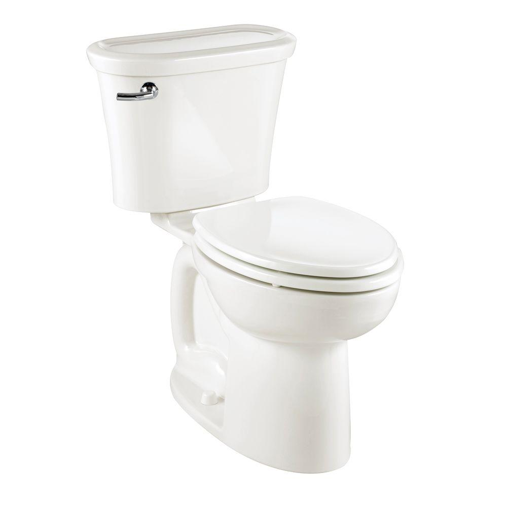 American Standard Tropic 2-piece 1.6 GPF Elongated Toilet in White-DISCONTINUED