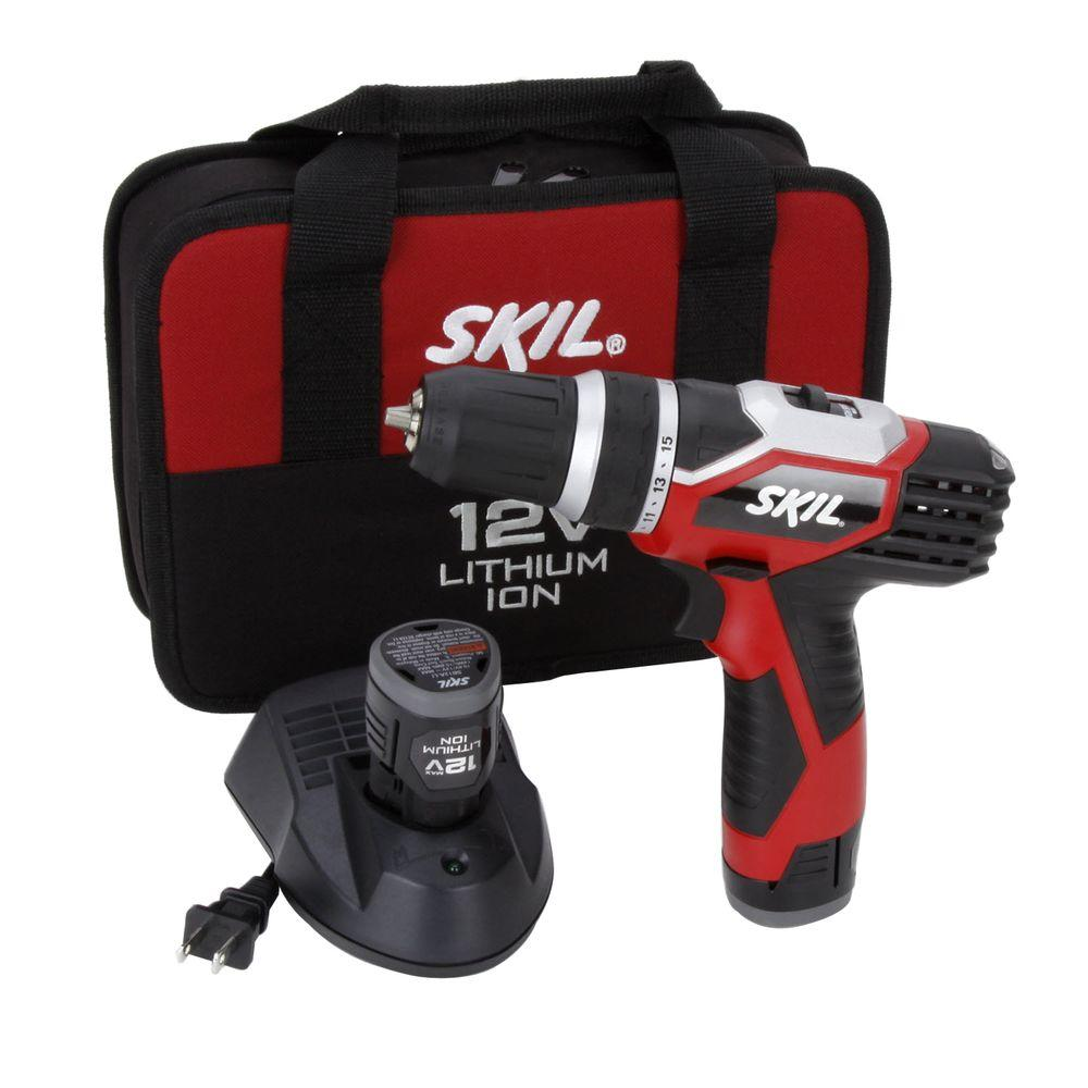 Skil 12 Volt Max Lithium-Ion Drill/Driver