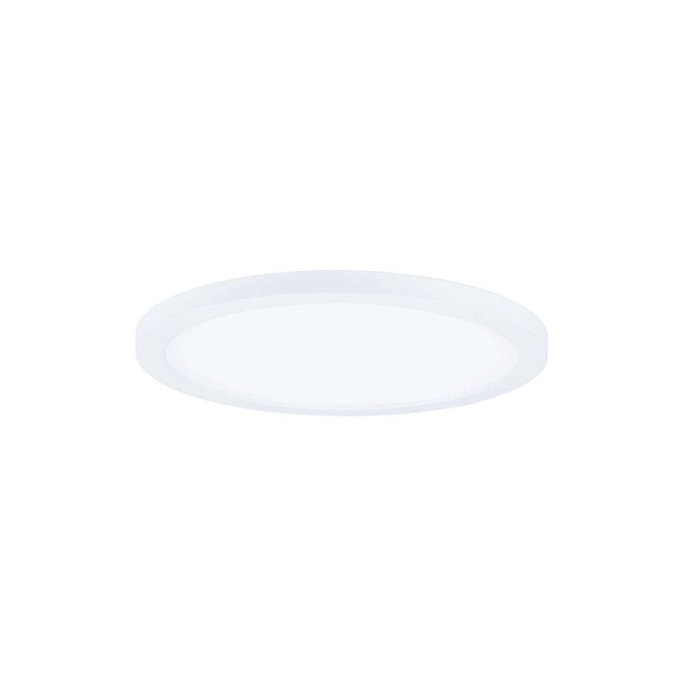 Maxim Lighting Wafer 7 in. White Integrated LED Flushmount Light