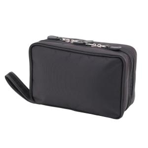 dc7a85df4e WallyBags Hanging Black Travel Toiletry Bag-440 BLK - The Home Depot
