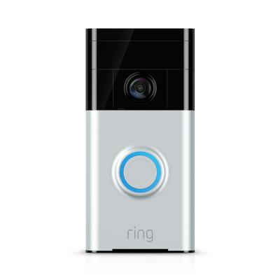 720p Wi-Fi Video Wired and Wireless Smart Door Bell Camera, Works with Alexa