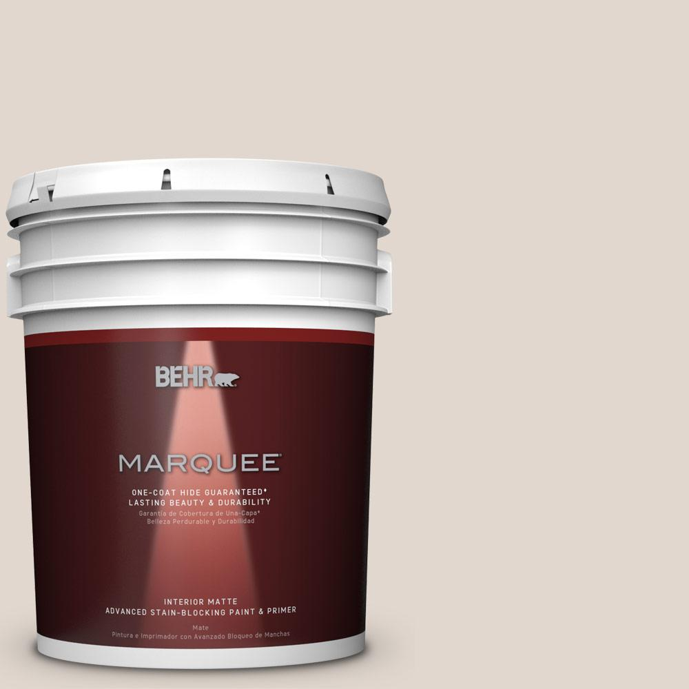 Behr marquee 5 gal mq3 36 translucent silk one coat hide matte interior paint 145005 the for Best one coat coverage exterior paint