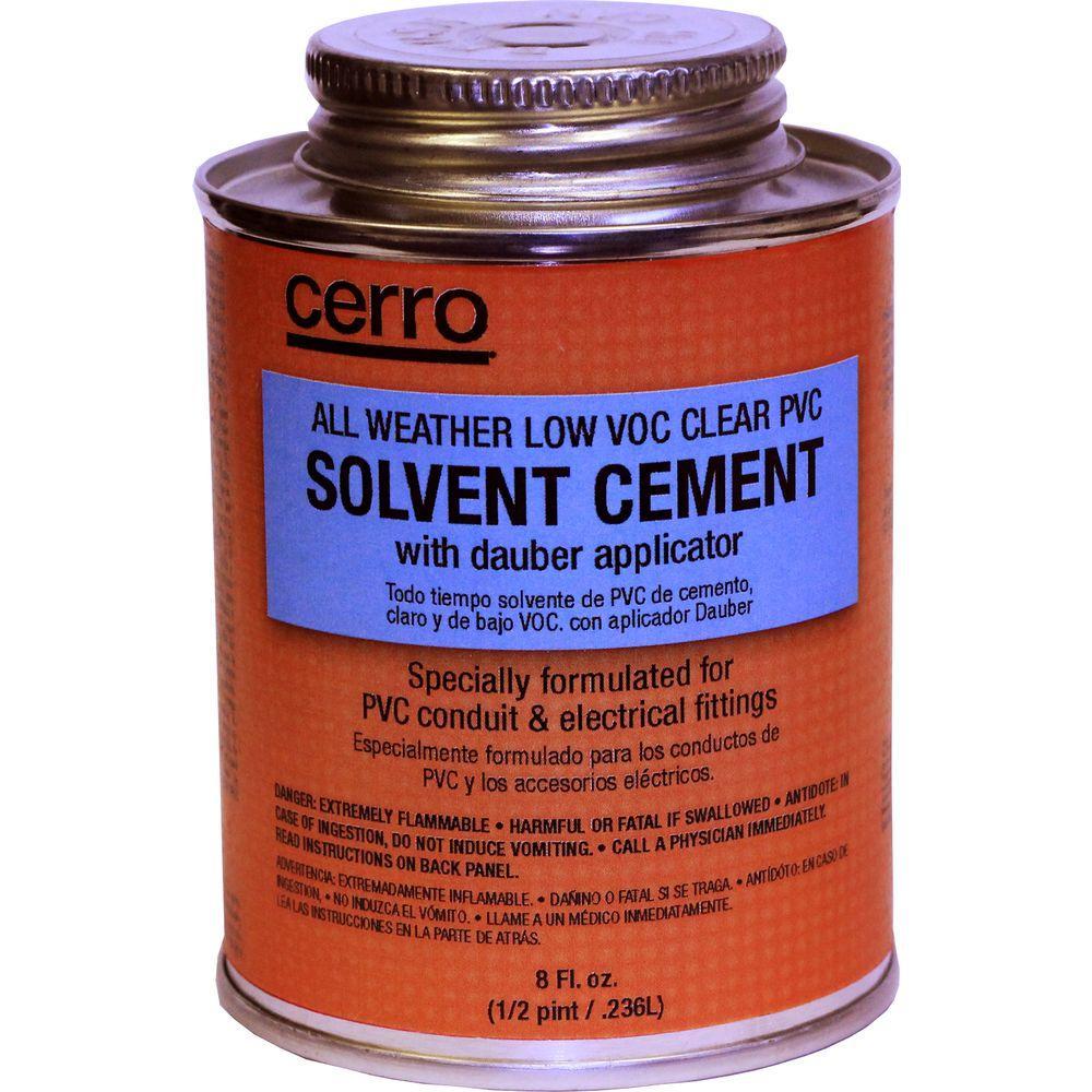 Pvc Solvent Cement : Cerro oz all weather low voc pvc solvent cement pvclaw