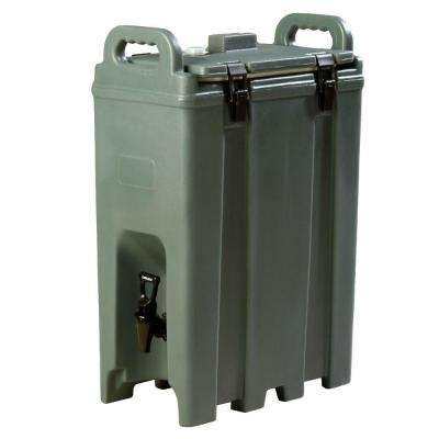 Insulated 5 gal. Beverage Server with Nylon Latch in Slate (Greyish) Blue