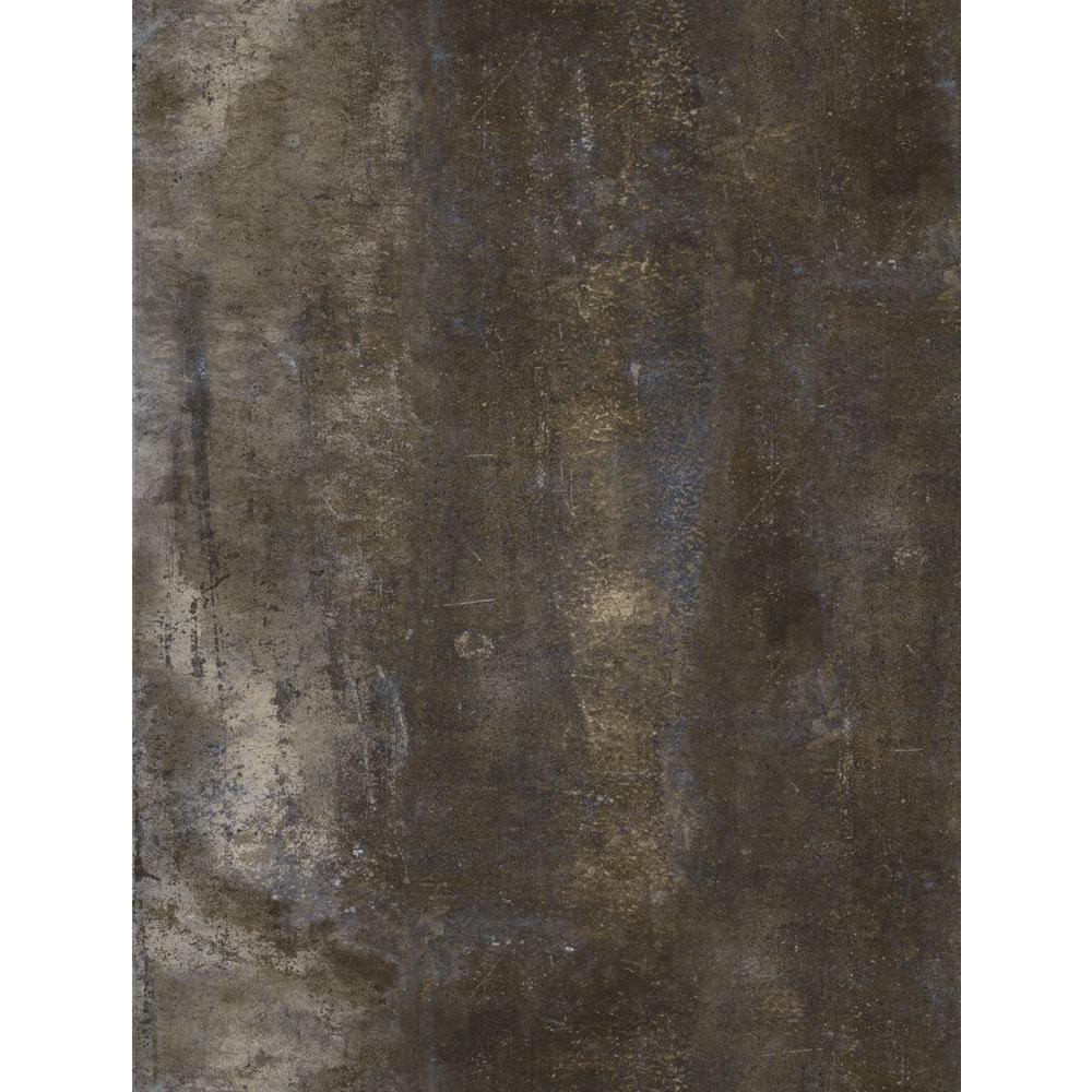 Trafficmaster Brown Stone 12 In X 24 In Peel And Stick Vinyl Tile