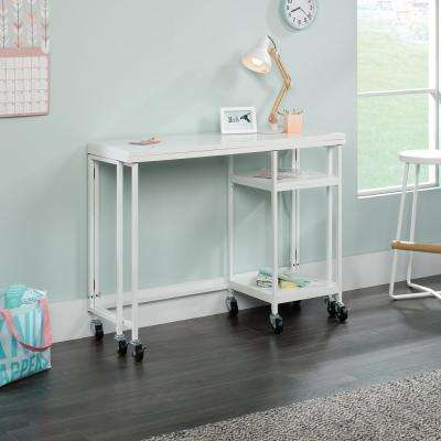 HomeVisions White Fold-Out Work Table