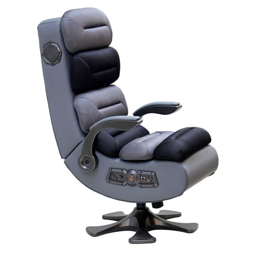 X Rocker X Rocker Pro Black Wireless Bluetooth Audio Pedestal Chair
