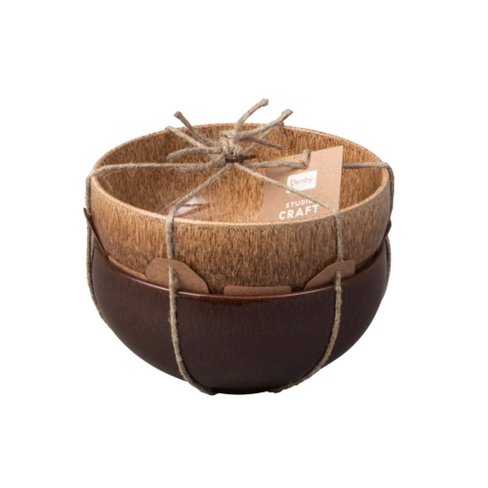 Studio Craft 2-Piece Ramen/ Large Noodle Bowl Set