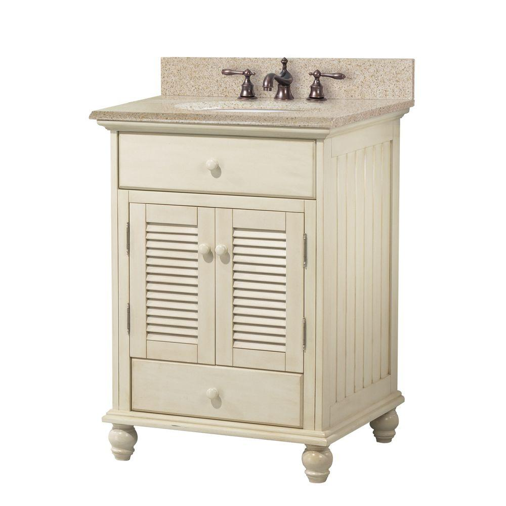 Cottage 25 in. W x 22 in. D Bath Vanity in