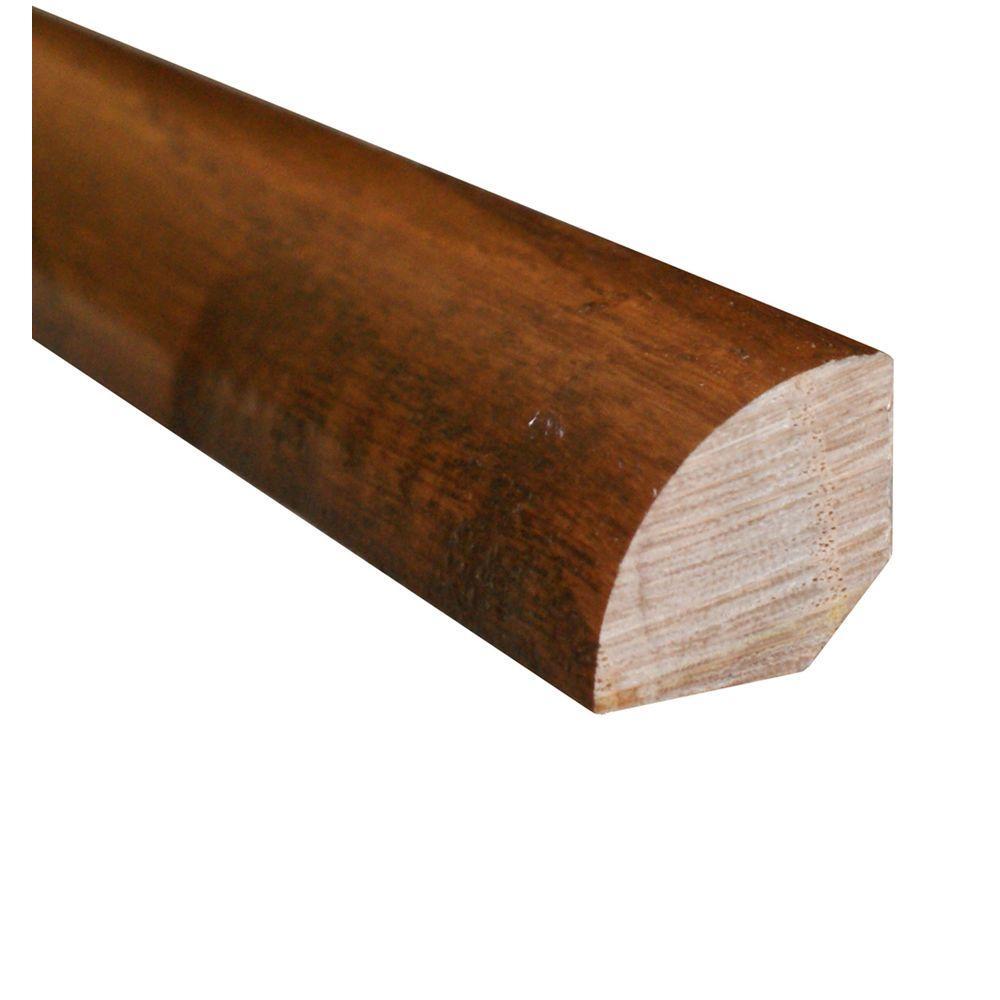 Oak Mink/Gunstock 3/4 in. Thick x 3/4 in. Wide x 78 in. Length Hardwood Quarter Round Molding