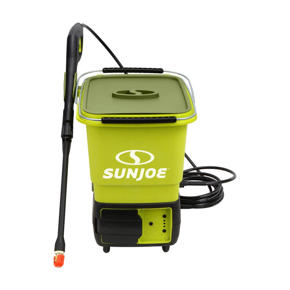 Sun Joe 40-Volt 1160 Max PSI 0.79 GPM Cordless Electric Pressure Washer Kit with 5.0 Ah Battery + Charger (Factory Refurbished)