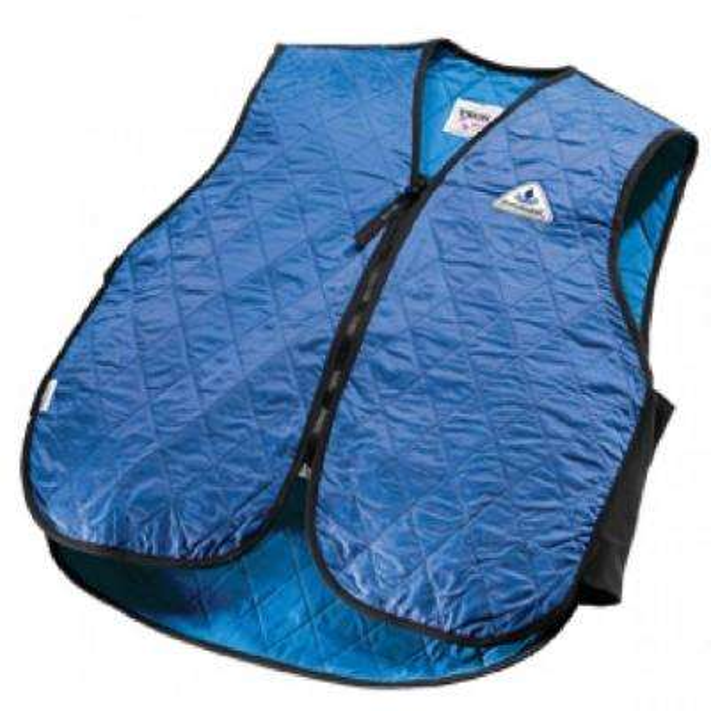 X-Large Blue Cooling Sport Vest