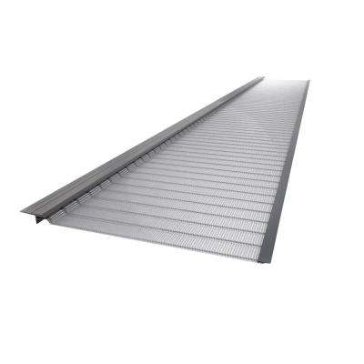 3 ft. Stainless Steel 5 in. Micro-Mesh Gutter Guard (10-Pack)