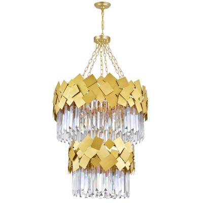Panache 10-Light Medallion Gold Contemporary Chandelier