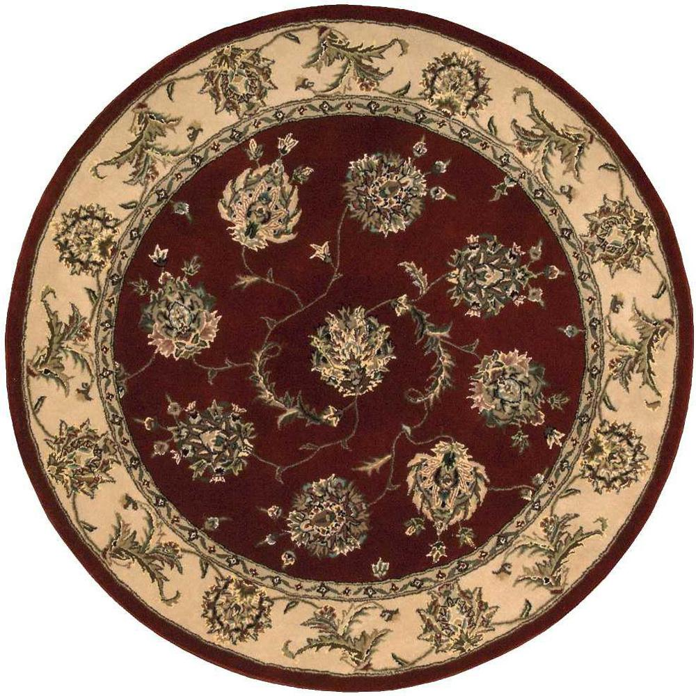 Nourison 2000 Lacquer 4 Ft. X 4 Ft. Round Area Rug-492012