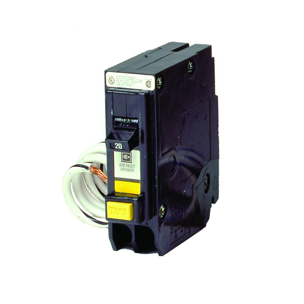 BR 20 Amp Single Pole Arc Fault Fireguard Circuit Breaker