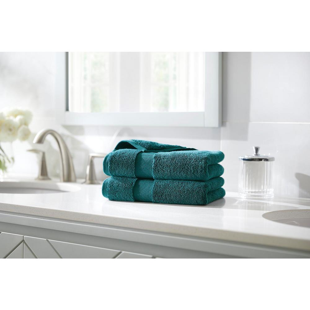 HomeDecoratorsCollection Home Decorators Collection Plush Soft Cotton Hand Towel in Charleston (Set of 2)