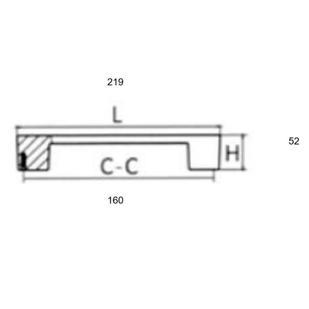 """25pk 3-3//4/"""" C.C Pull Brushed Nickel  Cabinet Handle 8090 Cupboard Drawer Door"""
