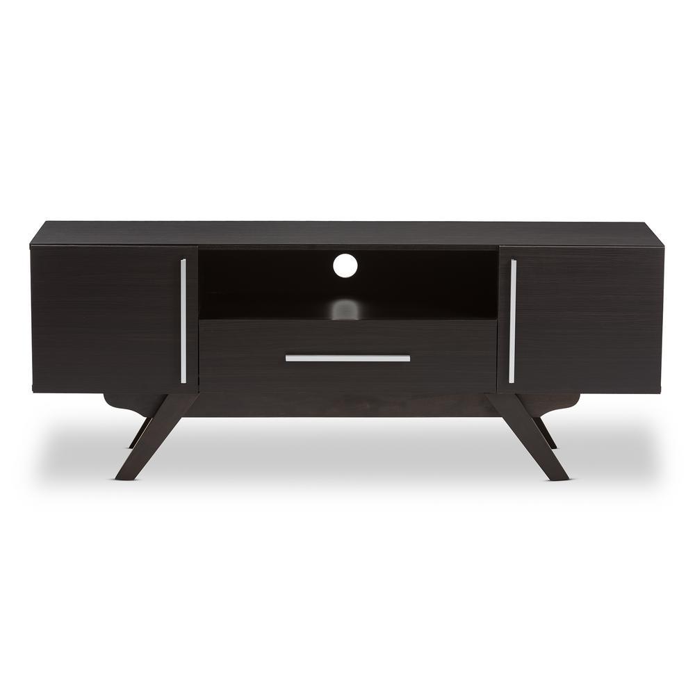 Ashfield Dark Brown 1-Drawer TV Stand
