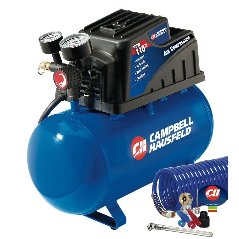 Campbell Hausfeld 2-Gal. Portable Electric Air Compressor-DISCONTINUED