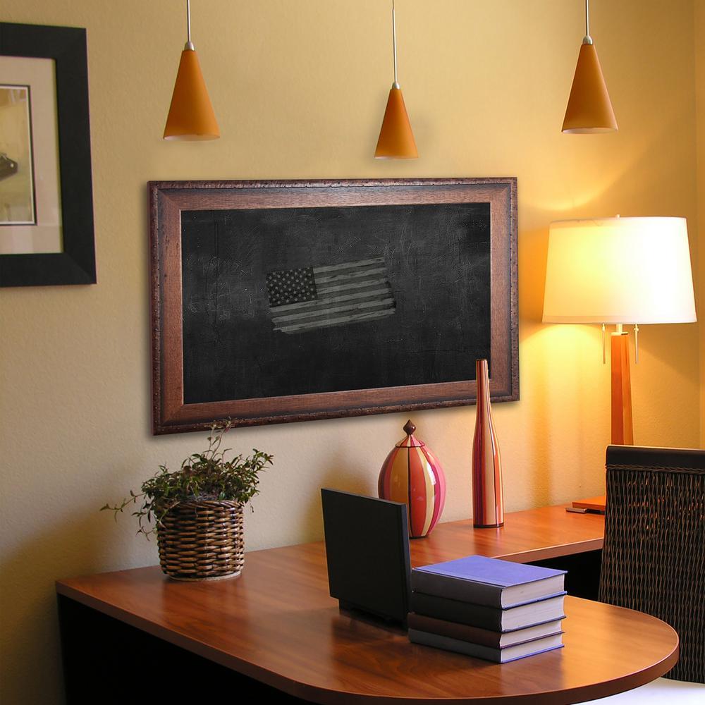 54 in. x 30 in. Timber Estate Blackboard/Chalkboard