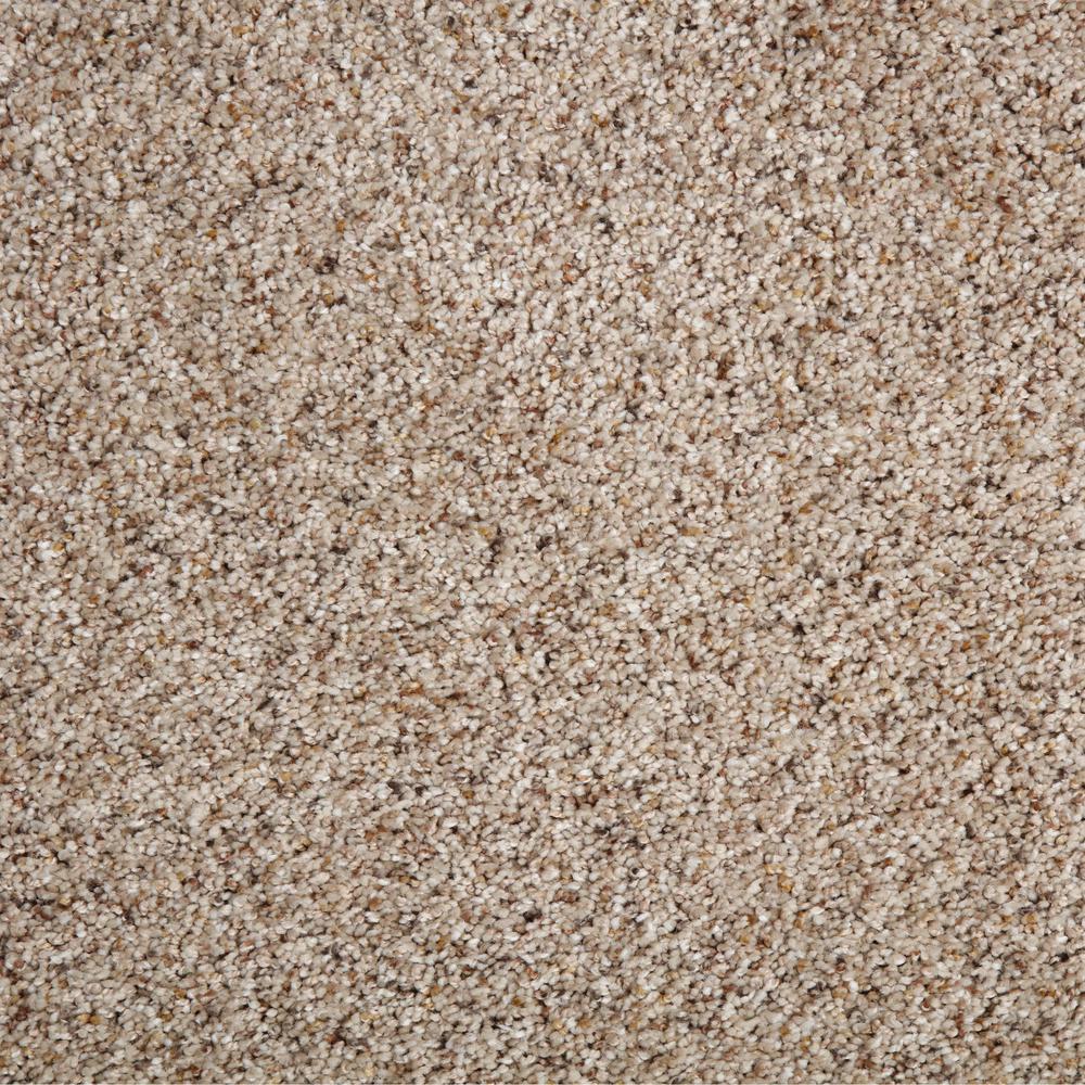 Collinger I-Color Ashen Textured 12 ft. Carpet