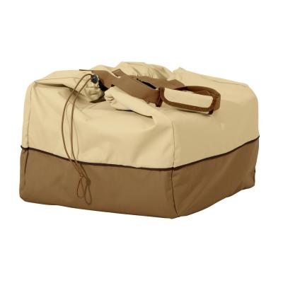 Veranda 22 in. L x 18 in. W x 15 in. H Rectangular Table Top Grill Cover and Carry Bag