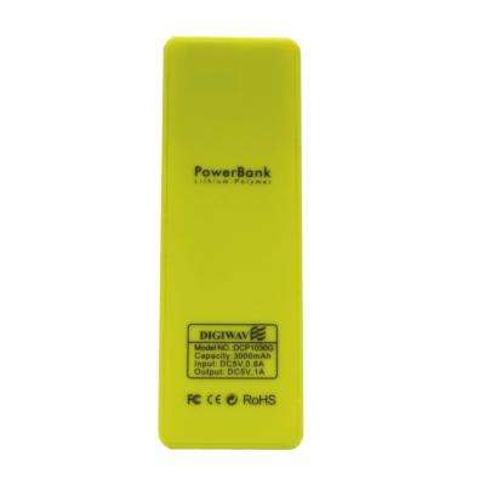 Digiwave 3000mAh Portable Smart Power Bank