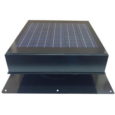 1280 CFM Powder Coated Galvanized Steel Hybrid (Solar/Electric) Powered Attic Fan