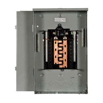 PL Series 100 Amp 16-Space 24-Circuit Main Breaker Outdoor Load Center