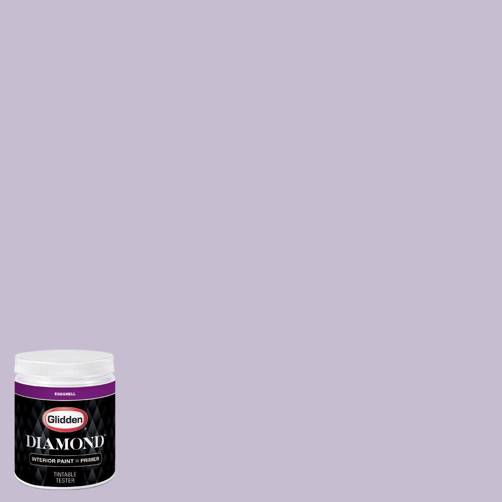 Purple Interior Paint: Glidden Diamond 8 Oz. #HDGV62 Quaint Purple Rose Eggshell