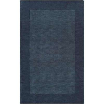 Foxcroft Navy 12 ft. x 15 ft. Indoor Area Rug
