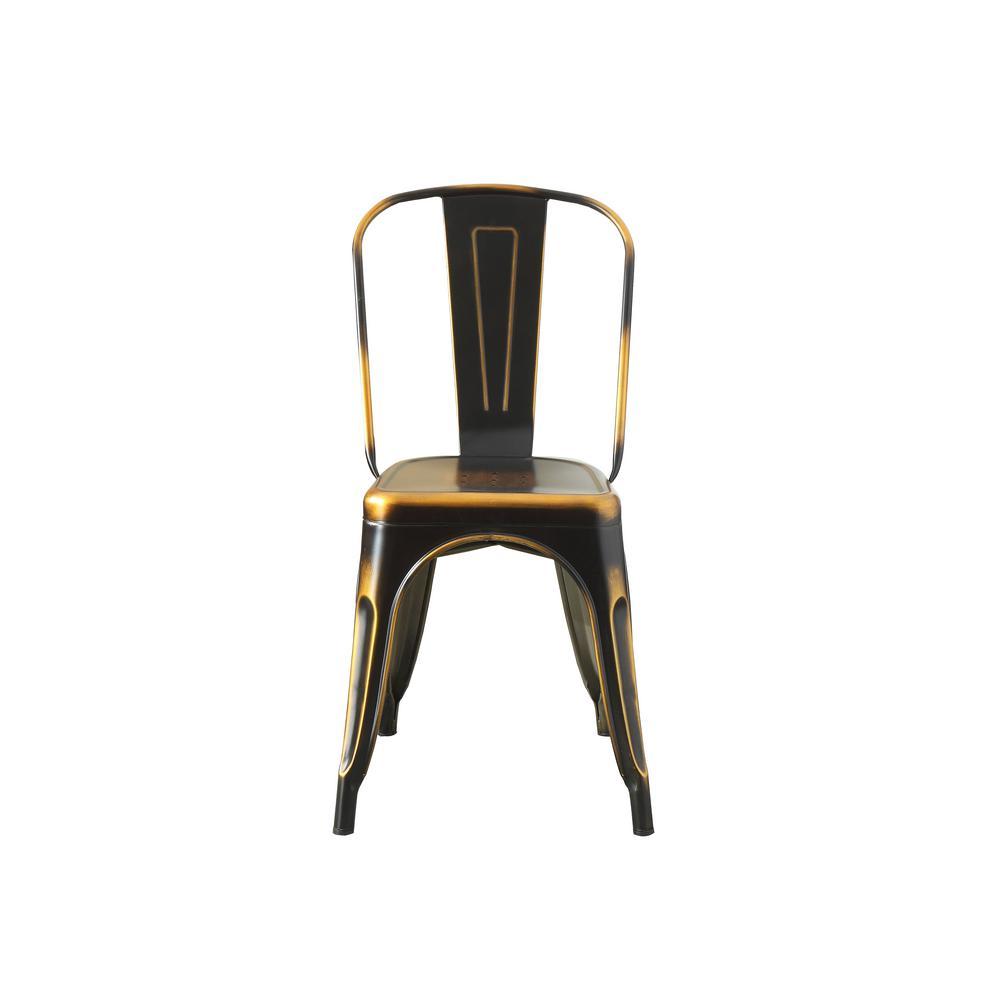 Jakia Retro Copper Side Chair