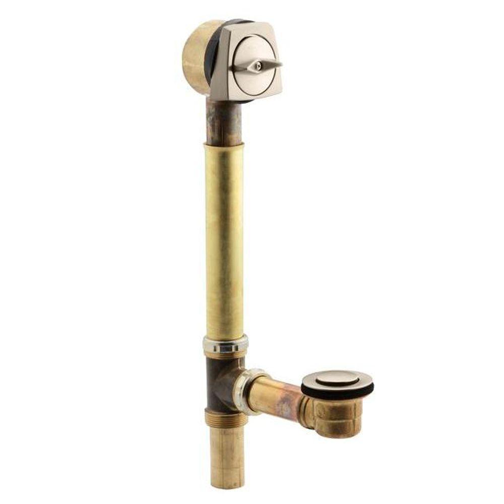 Kohler sok bath drain in vibrant brushed bronze k 7193 bv for Vibrant brushed bronze bathroom lighting