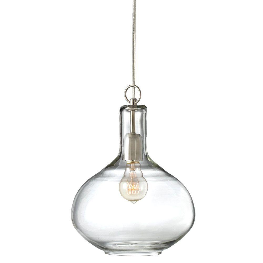 Filament Design Sundry 1-Light Clear Incandescent Pendent-DISCONTINUED