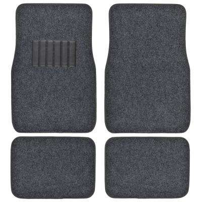 Classic MT-100 Dark Gray Carpet With Rubberized Backing 4-Piece Car Floor Mats