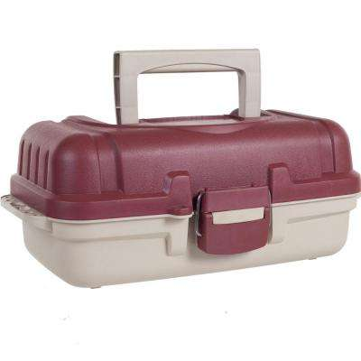 Heavy Duty 2-Layer Tackle Box with Secure Latch