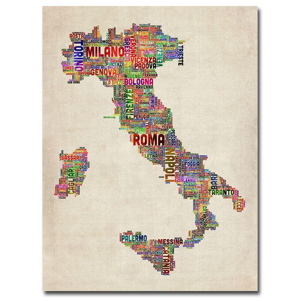 Trademark Fine Art 24 in. x 18 in. Italy II Canvas Art