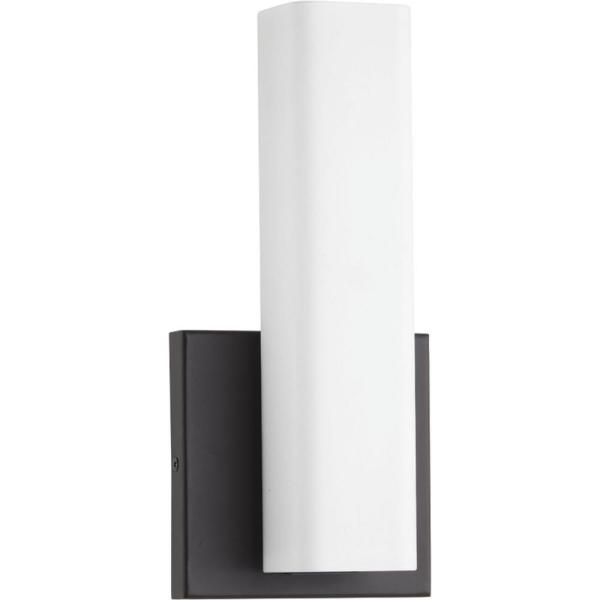 Beam 16-Watt Architectural Bronze Integrated LED Sconce