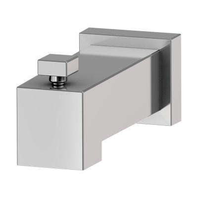 Duro 6-1/2 in. Diverter Tub Spout in Polished Chrome