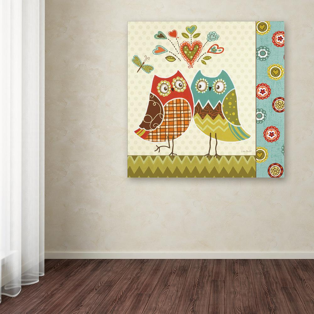 Trademark Fine Art 35 In X Owl Wonderful II By