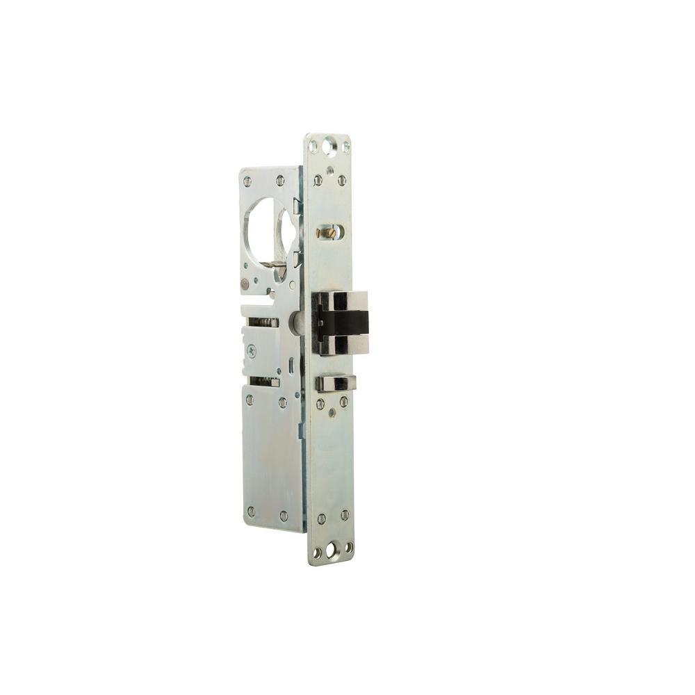 1-1/8 in. Aluminum Left-Handed Deadlatch Function Mortise Lock