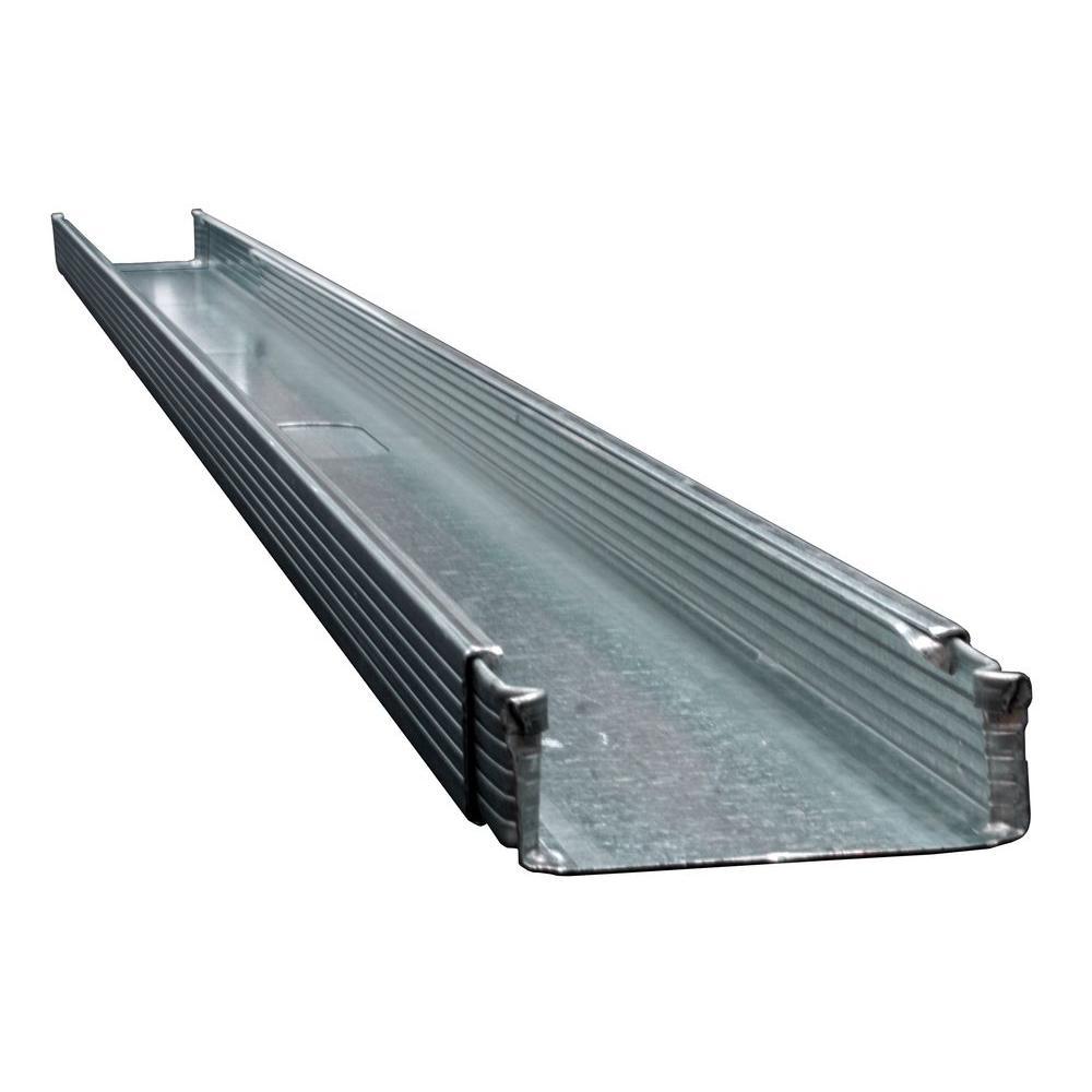 Trakloc 2 1 2 In X 14 Ft Adjustable 20 Gauge Steel Wall Framing Stud Tl2121420 The Home Depot