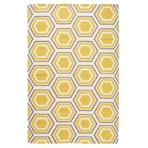 Home Decorators Collection Castleberry 8 ft. x 11 ft. Area Rug (Gold/Grey)